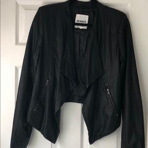 BB Dakota Leather Waterfall Jacket